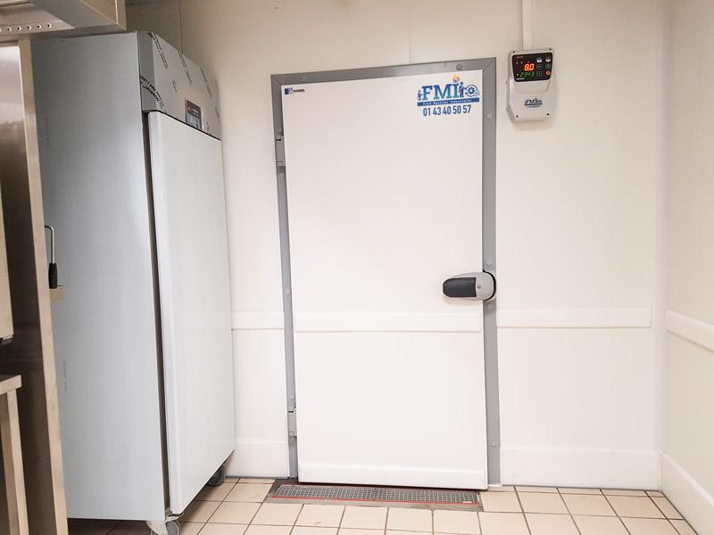 Chambres froides installées par Fmi