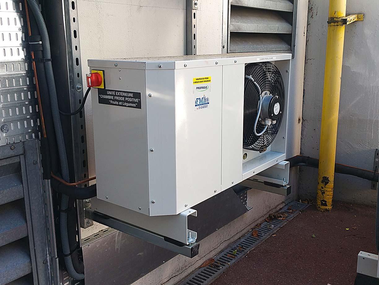 Climatisation installée par Fmi - Froid machines industrielles