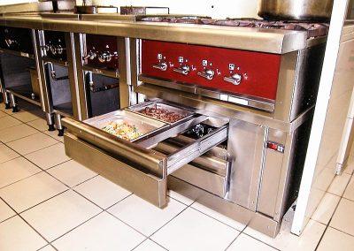 Installation de cuisine professionnelle par Fmi