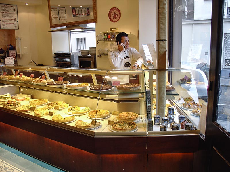 Vitrines réfrigérées restaurant Tartes et Tartines - Fmi